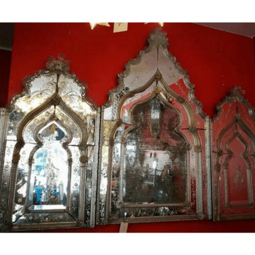 Espejo tríptico veneciano