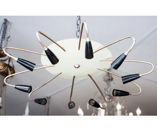 lámpara-de-techo-art-deco