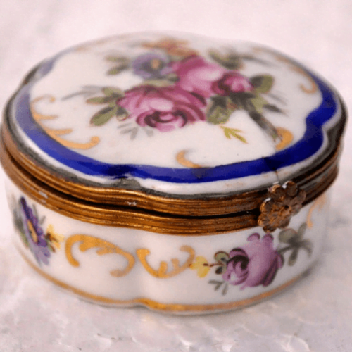 Cofre porcelana SÉVRES