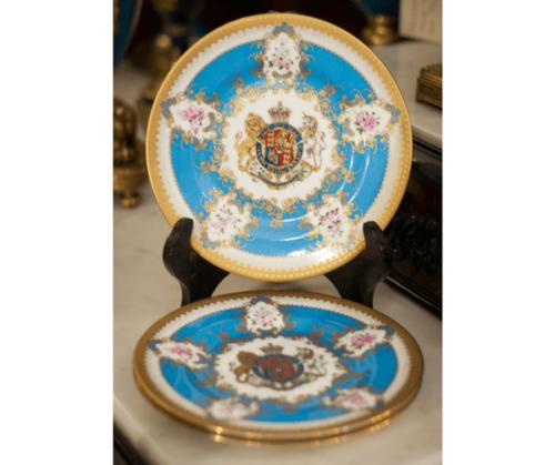 (3 piezas) Porcelana The Royal Collection