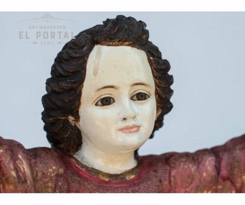 Niño divino en madera tallada y policromada | 2