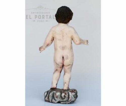 Niño Jesús de vestir en madera tallada | 3