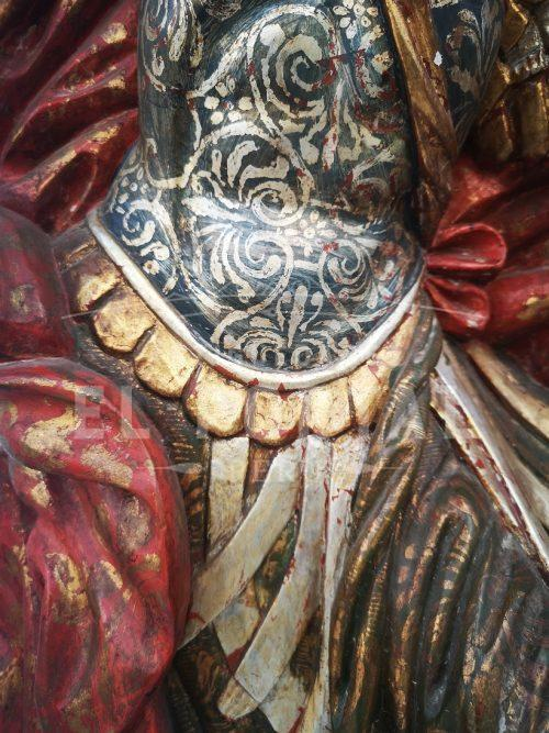 Arcángel San Miguel en madera tallada y policromada | 4