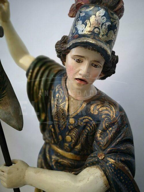 Figura Religiosa Arcángel San Miguel | 8