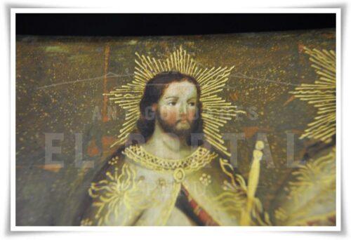 Cofre pintado Coronación de la Virgen María | 10