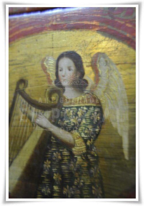 Cofre pintado Coronación de la Virgen María | 11