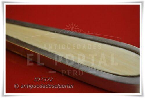 Espejo y escobilla de Plata Inglesa 800 | 4