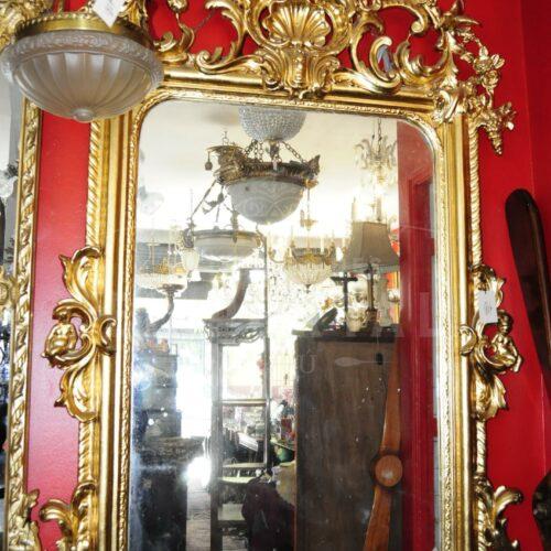 Espejos Franceses con marco de madera y laminados | 5