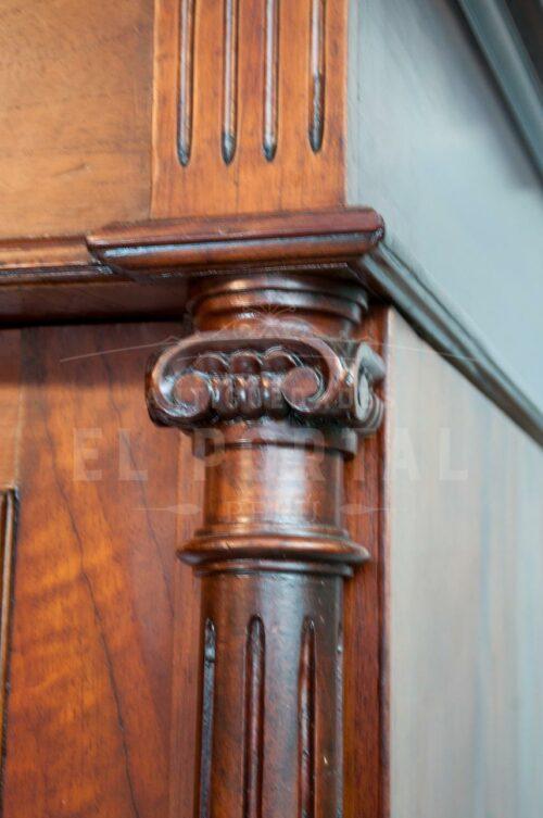Vitrina de cedro estilo inglés | 1