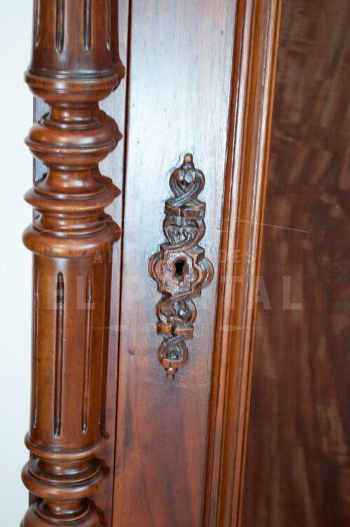 Vitrina de cedro estilo inglés | 2