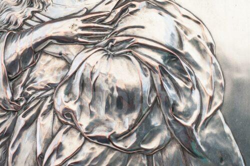 Virgen Inmaculada Placa de plaqué alemán WMF | 5