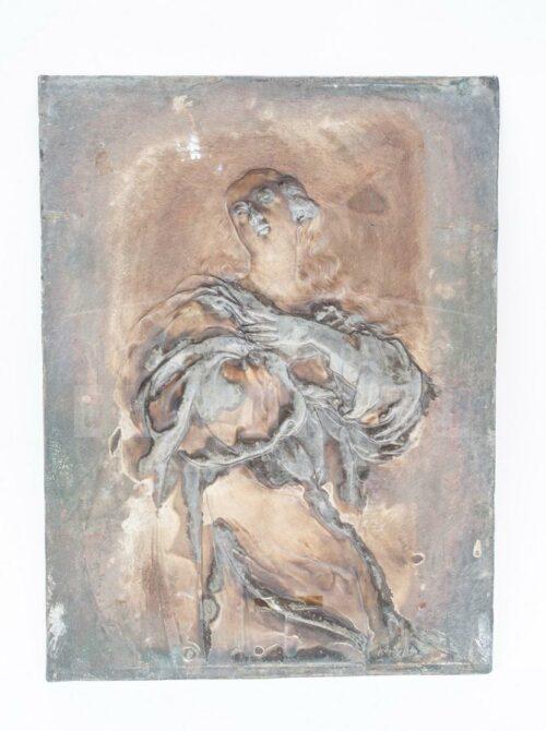 Virgen Inmaculada Placa de plaqué alemán WMF | 6