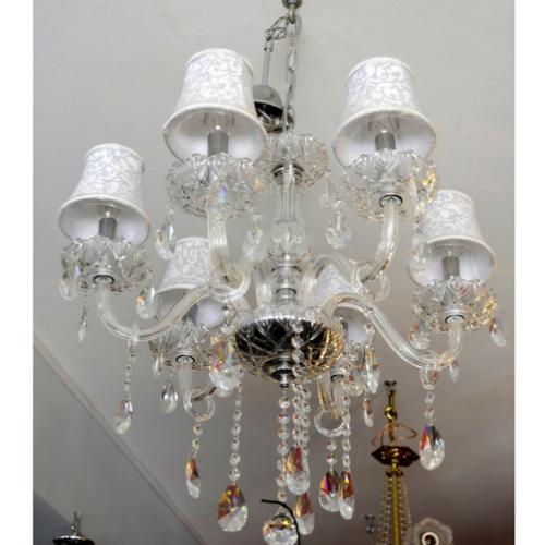 Lámpara  de techo seis luces