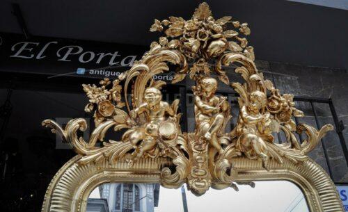 Elegante e imponente espejo francés   2