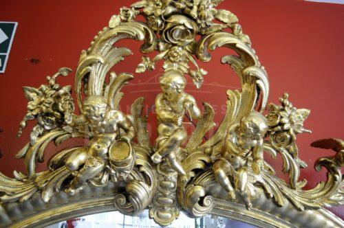 Marco ovalado  para espejo de origen francés | 2