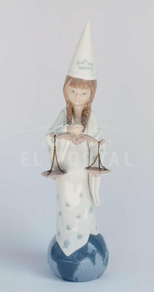 Figura de porcelana Lladró Horóscopo Libra | 1