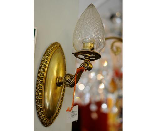 Par de braquetes de bronce  estilo Imperio