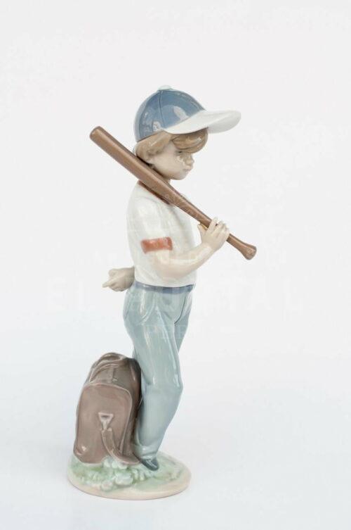 "Figura de porcelana Lladró  ""Dispuesto a jugar"" | 1"