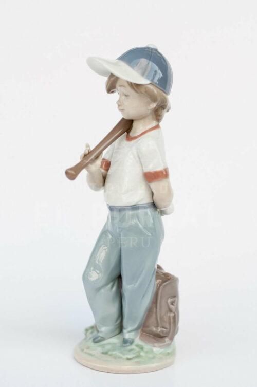 "Figura de porcelana Lladró  ""Dispuesto a jugar"" | 2"