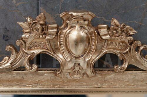Espejo francés dorado | 1