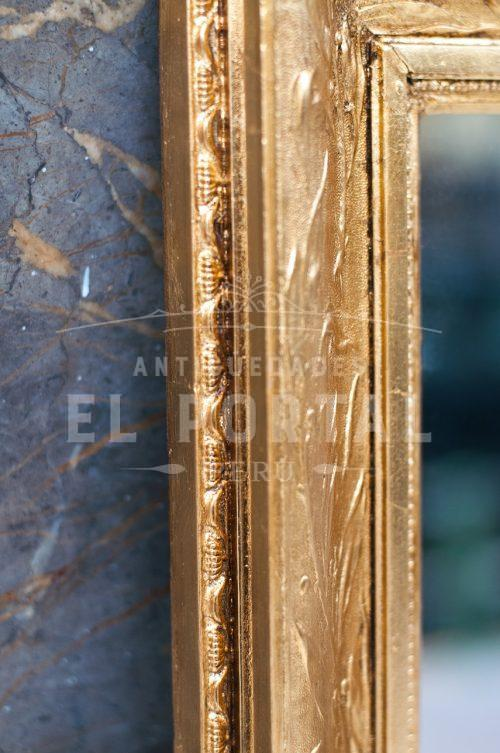Espejo francés dorado | 4
