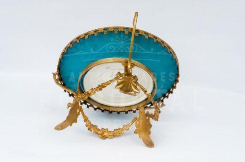 Centro de porcelana Sévres con bronce | 4