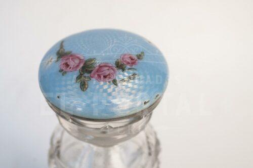 Guilloche perfumero de cristal con Plata Esmaltada | 5