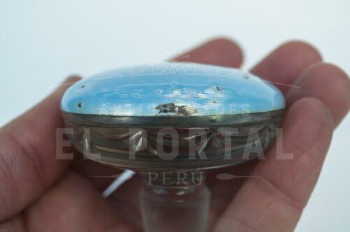 Guilloche perfumero de cristal con Plata Esmaltada | 6