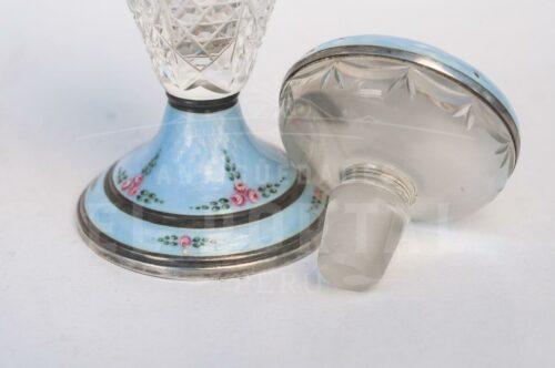 Guilloche perfumero de cristal con Plata Esmaltada | 7