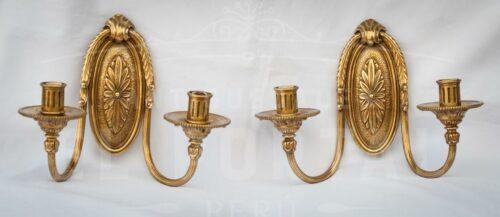 Braquete en bronce estilo Imperio | 1
