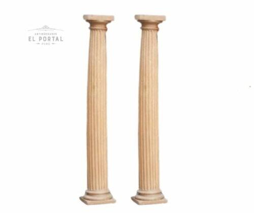 columna de madera