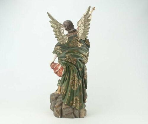 Arcángel San Miguel en madera tallada | 5