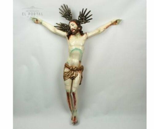 cristo de madera tallada