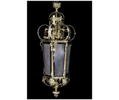 Farol de bronce cuatro luces