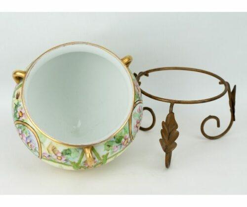 Macetero de porcelana Art Nouveau | 2