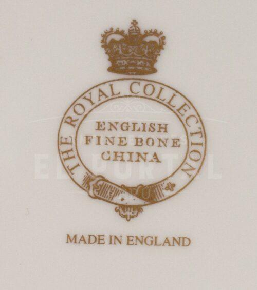 Platos decorativos de Porcelana The Royal Collection | 1