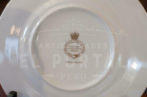 Platos decorativos de Porcelana The Royal Collection | 2