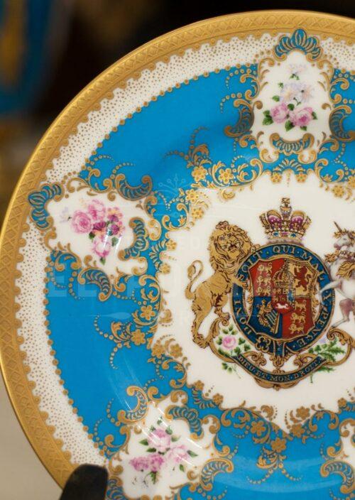Platos decorativos de Porcelana The Royal Collection | 4