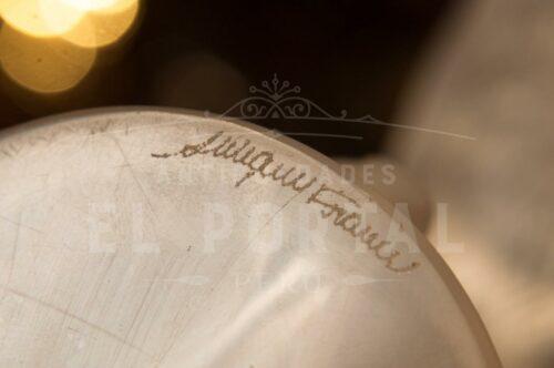 Lalique France Art Deco figura de mujer de cristal | 6