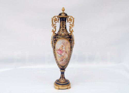 Sèvres Ánfora de Porcelana | 1