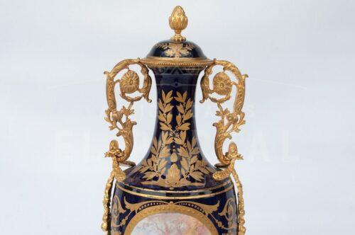 Sèvres Ánfora de Porcelana | 2