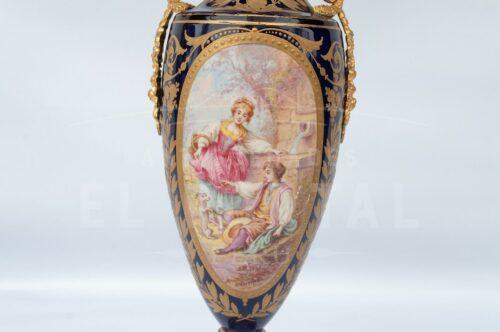 Sèvres Ánfora de Porcelana | 3
