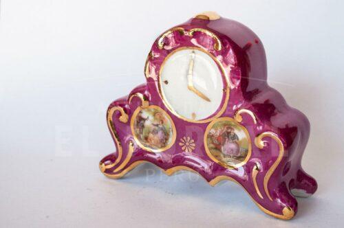 Limoges France Reloj de mesa miniatura | 1