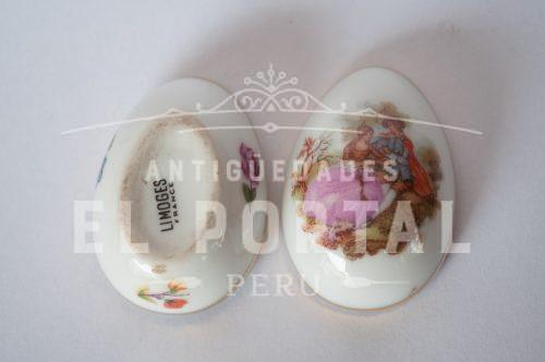 Limoges France Huevo en miniatura | 4