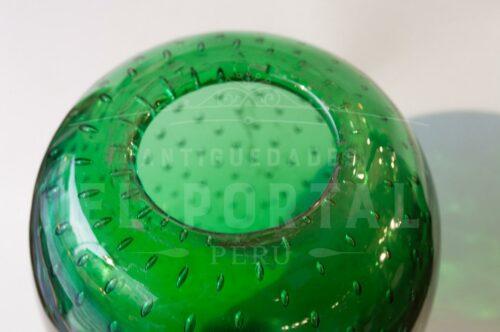 Florero de Murano color verde | 2