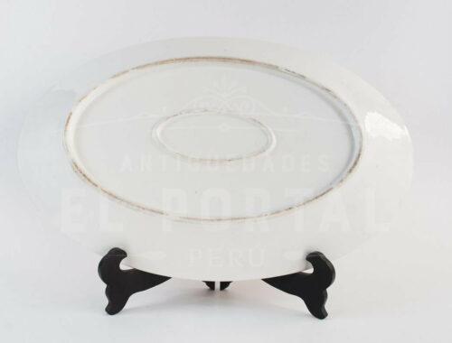 Fuente bandeja de Porcelana | 2