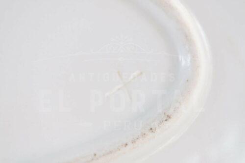 Fuente bandeja de Porcelana | 3