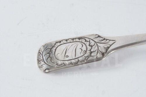Cuchara de Plata Colonial | 4