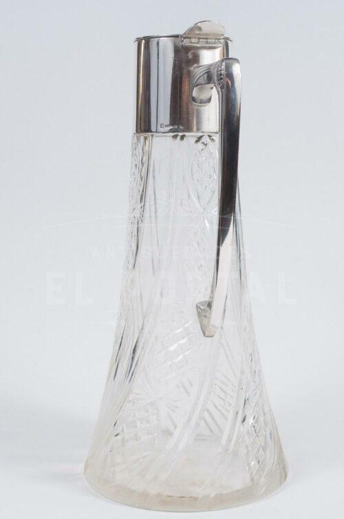 WMF Jarra Decantador de cristal con plaqué | 1