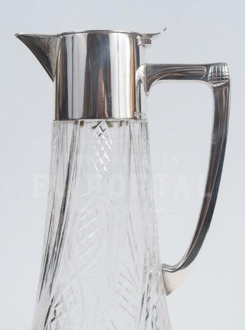 WMF Jarra Decantador de cristal con plaqué | 4